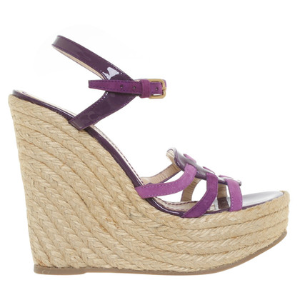 Yves Saint Laurent Sandals in purple