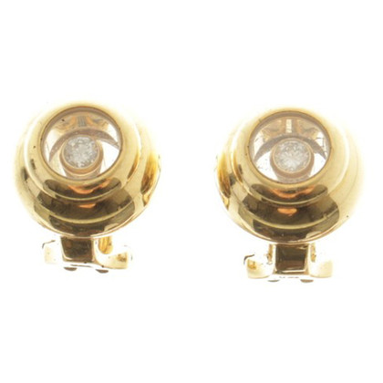 Chopard Money gold earrings