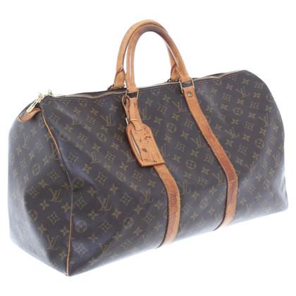 Louis Vuitton Monogramma di tela borsa da viaggio