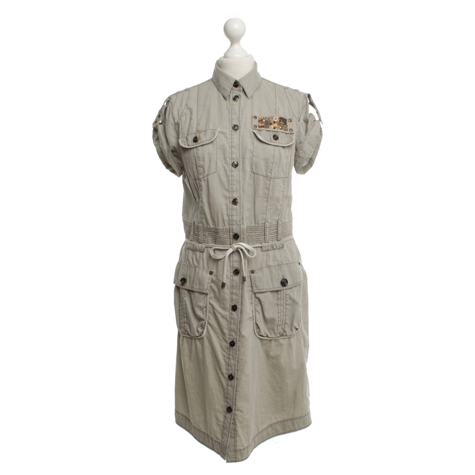 Marc Cain Dress In Safari Style Buy Second Hand Marc