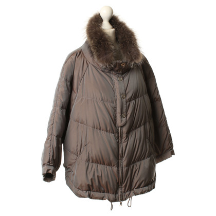 Brunello Cucinelli Real fur collar jacket