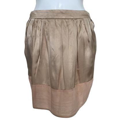 Chloé Silk skirt in beige