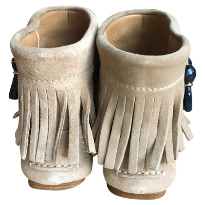 Christian Dior Moccasins with fringes