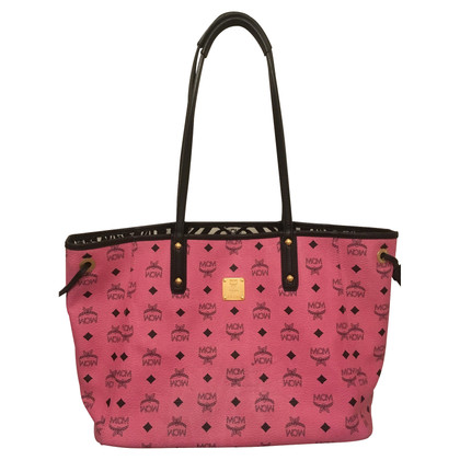 MCM Shopper with clutch