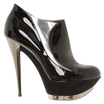 Casadei Boots patent leather