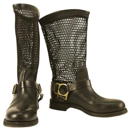 Dolce & Gabbana Dolce Gabbana Motorcycle Boots sz 39