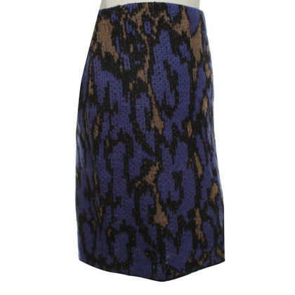 Marc Cain Wool-skirt in animal look