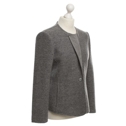 Armani Collezioni Blazer in licht grijs