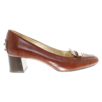 Tod's Leather pumps in Brown