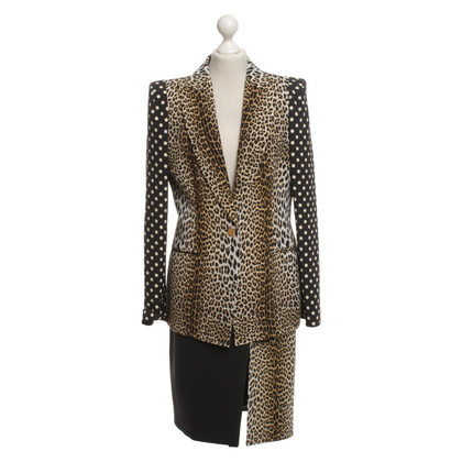 Emanuel Ungaro Costume with animal print