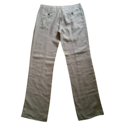 Iceberg Linen trousers in beige