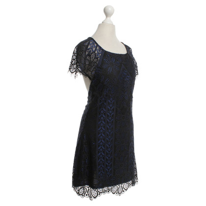 For Love & Lemons Lace dress in blue / black