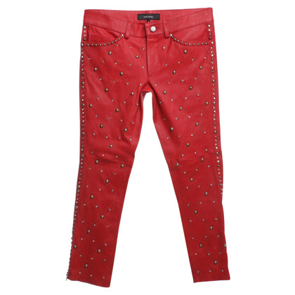 Isabel Marant Leather pants with rivets