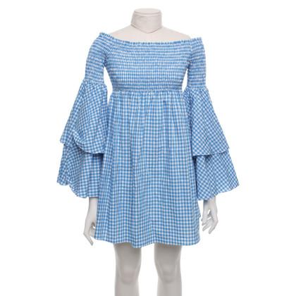Caroline Constas Kleid mit Karo-Muster
