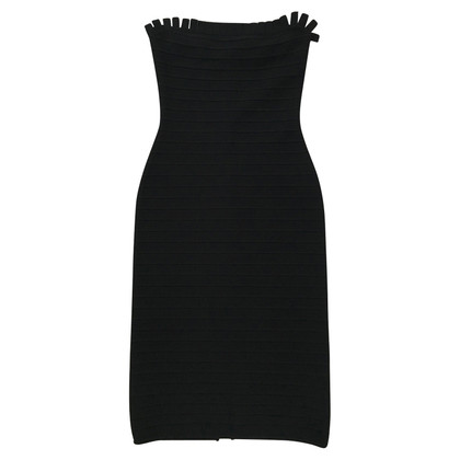 Hervé Léger Strapless cocktail dress