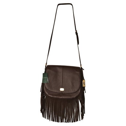 Ralph Lauren Crossbody Bag mit Fransen