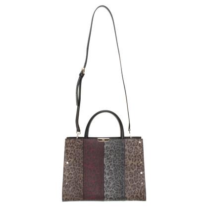 Roberto Cavalli Handbag with leopard print