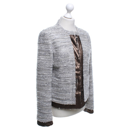 Twin-Set Simona Barbieri Bouclé fabric jacket