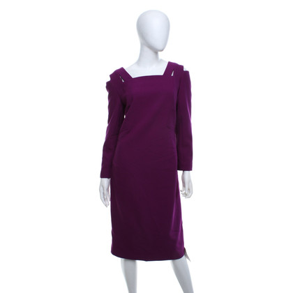 Roland Mouret Dress in fuchsia