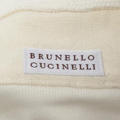 Weste Creme Brunello Creme Lange Brunello Cucinelli in Cucinelli rqAIqa