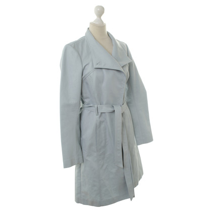 Reiss Trench coat in blu
