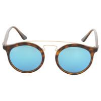 ray ban sonnenbrille mit blauen gl sern second hand ray. Black Bedroom Furniture Sets. Home Design Ideas