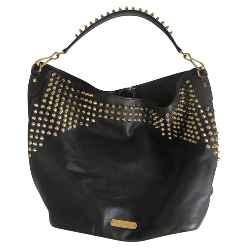 9487c726be Burberry Prorsum Large leather Tote bag with studs - Second Hand ...