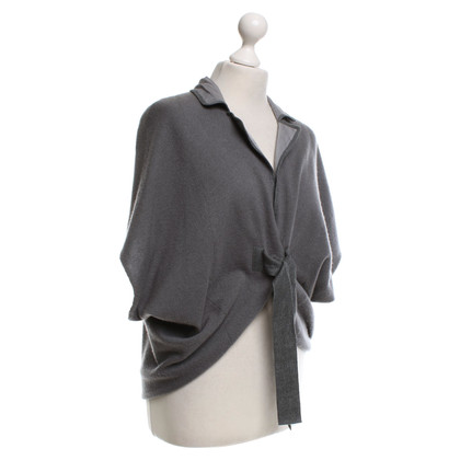 Brunello Cucinelli Cashmere Sweater in grey