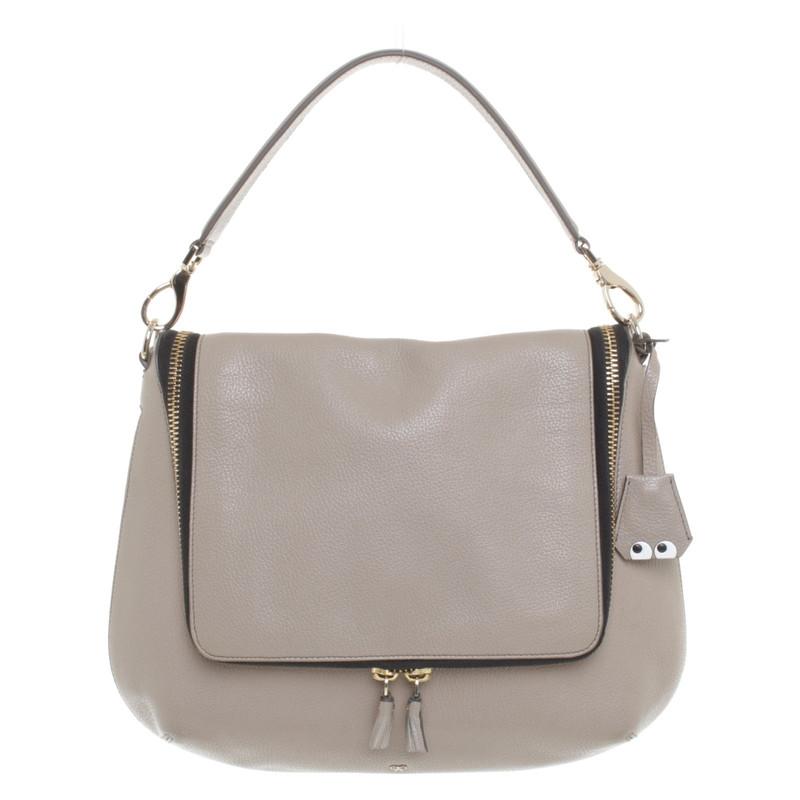 Hindmarch Handbag Anya Second In Grey Hand zqY1wY