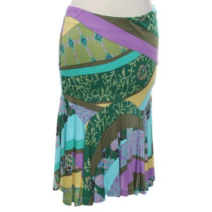 Etro skirt in multicolor