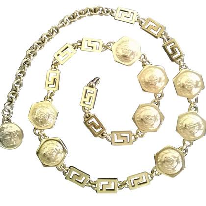 Versace chain belt