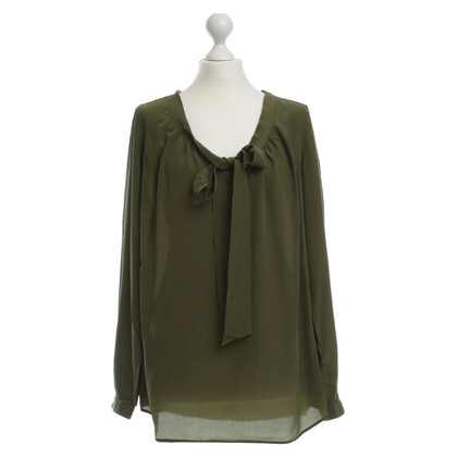 Other Designer 0039 Italy Schluppe blouse in olive