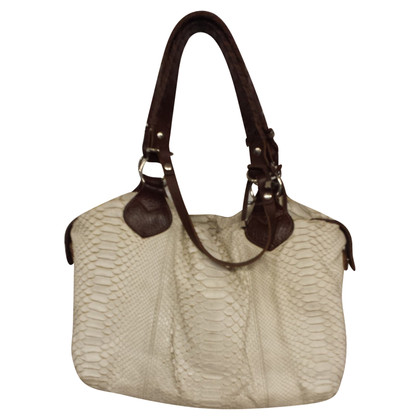 Pauric Sweeney Shopper made of Python leather