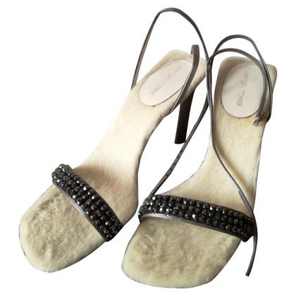 Sergio Rossi Sandals with stones