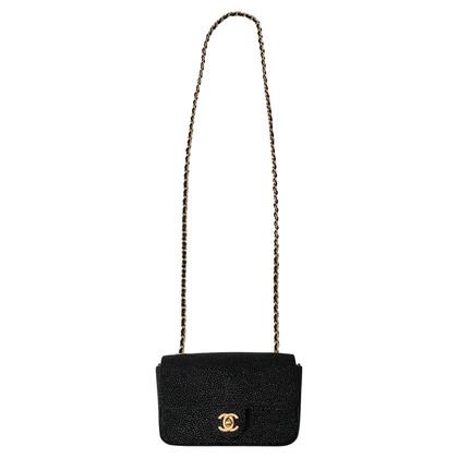 "Chanel ""Classic Flap Bag Extra Mini"" gemaakt van roggenleer"