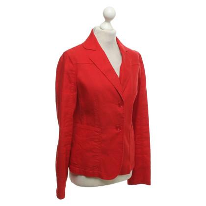 Armani Jeans Blazer in red
