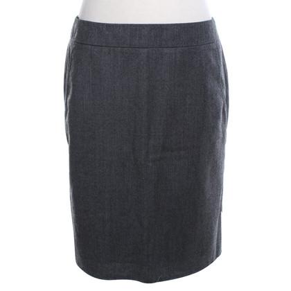 Strenesse Wollen rok in grijs