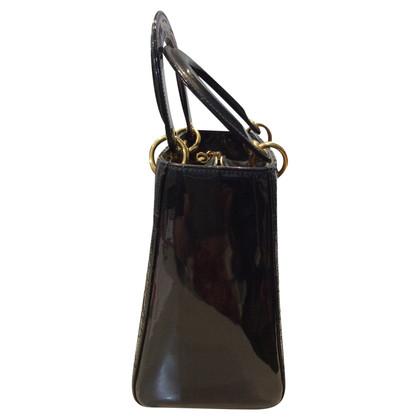 Christian Dior en cuir verni « Lady Dior »