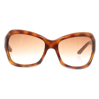 Christian Dior Occhiali da sole con pattern di tartaruga