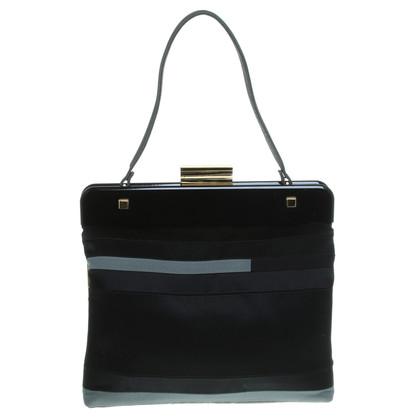 Lanvin Handtasche im Materialmix