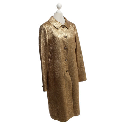 Rena Lange Coat in gold