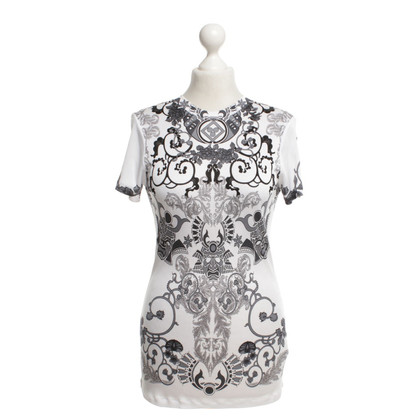 Gianni Versace Shirt zwart / White