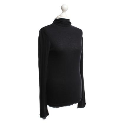 Comptoir des Cotonniers Raffinata maglia in blu scuro