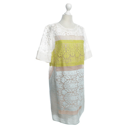 Rebecca Taylor Summer dress with floral lace