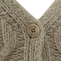 Twin-Set Simona Barbieri Sweater coat with braid-pattern