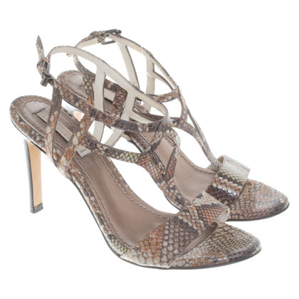 Dorothee Schumacher Sandals in snakeskin look