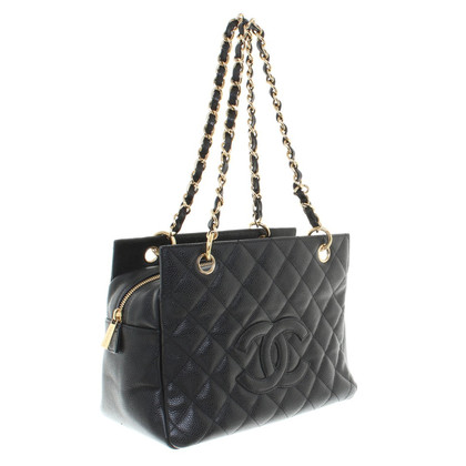 Chanel Shopping Tote aus Kaviar-Leder