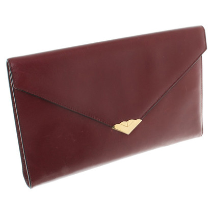 Escada Clutch in Braun