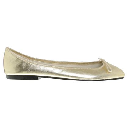 French Sole ballerine color oro