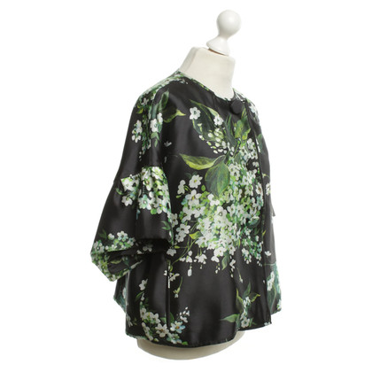 Dolce & Gabbana Jacket in black with floral print